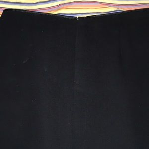 Gap black skirt, long.